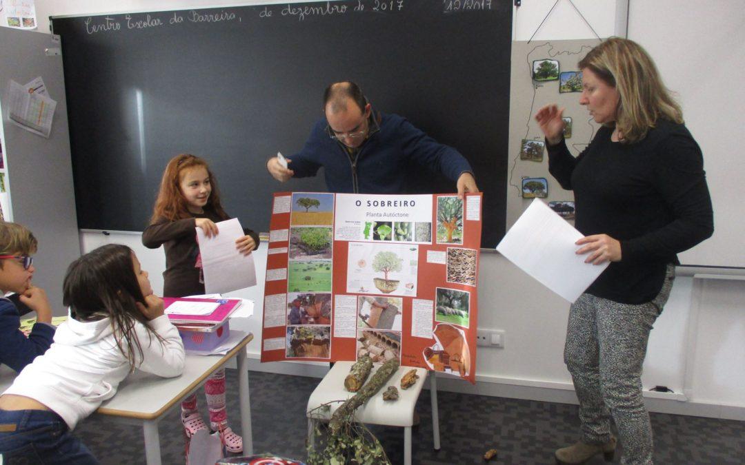 Aprender mais sobre espécies autóctones –  alunos pais e avós