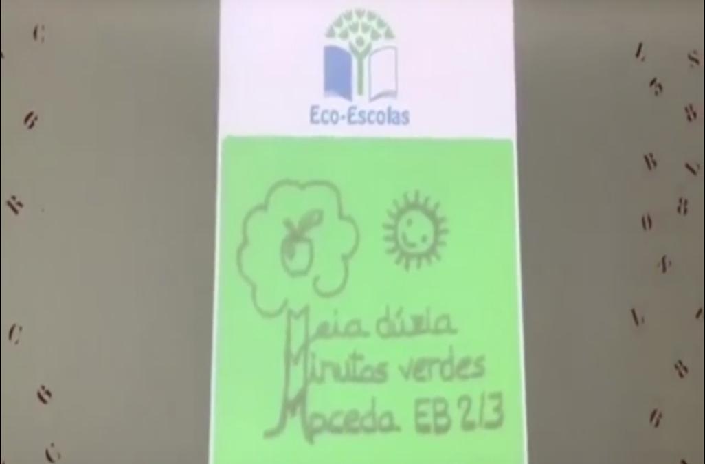 Meia dúzia de minutos verdes na EB 2,3 de Maceda